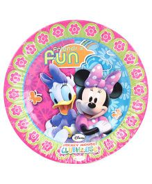 Minnie Mouse Club House Paper Plates - Diameter 6.8 Inches