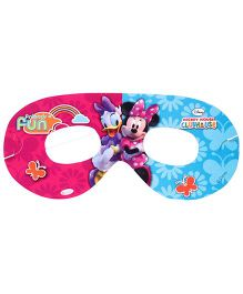 Disney Minnie Mouse Club House Eye Mask - Pink & Blue