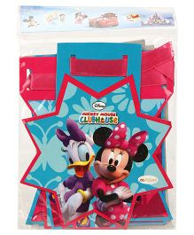 Disney Minnie Mouse Happy Birthday Die Cut Banner - Multi Color