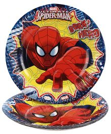 Marvel Spider Man Paper Plate Multi Color - Pack Of 10
