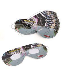 Disney Pixar Cars  Eye Masks Pack of 10 - Black & Grey
