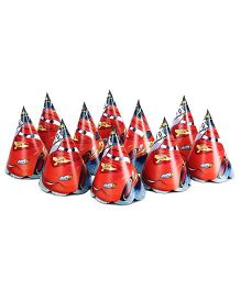 Disney Pixar Cars Paper Cap Pack Of 10 - Multi Color