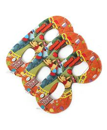 Winnie The Pooh Eye Masks Pack Of 10 - Multi Color