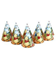 Disney Winnie The Pooh Paper Cap Pack Of 10 - Multi Color