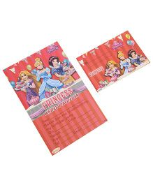 Disney Princess Invitation & Envelopes Pack Of 10 - Red