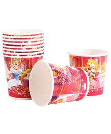 Disney Princess Paper Cups Pack Of 10 Multi Color - Each 200 ml