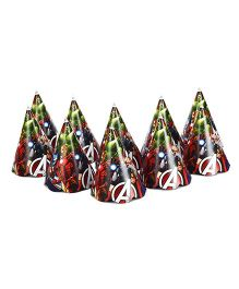 Marvel Avengers Paper Cap Pack Of 10 - Multi Color