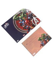Marvel Avengers Die-Cut Invitation & Envelopes Pack Of 10 - Multi Color
