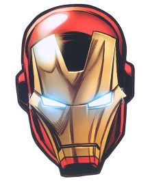 Marvel Iron Man Face Mask Pack Of 10 - Red & Golden