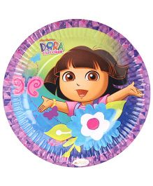 Dora Paper Plates - Diameter 6.8 Inches