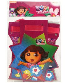 Dora Happy Birthday Die Cut Banner - Multi Color