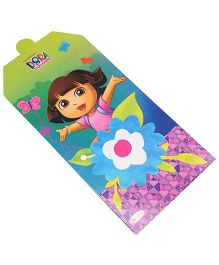 Dora Invitation Card Pack Of 10 - Multi Color