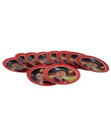 FC Barcelona Paper Plate Multi Color - 8.6 Inches