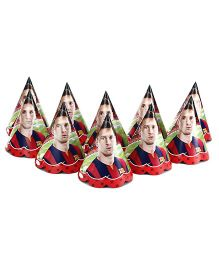 FC Barcelona Paper Cap pack Of 10 - Multi Color