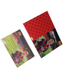 FC Barcelona Die-Cut Invitation & Envelopes Pack Of 10 - Multi Color