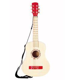 Hape Vibrant Guitar - Red