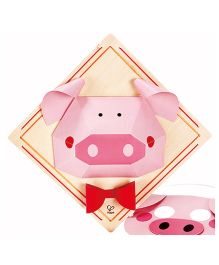 Hape Piggy Mode Craft Kit - 12 Pieces