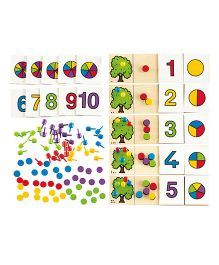 Hape Equate Game - 135 Pieces