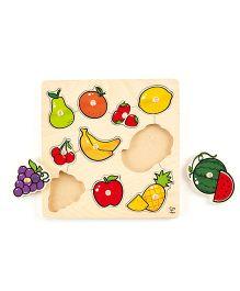 Hape Home Education Fruit Knob Puzzle - 11 Pieces