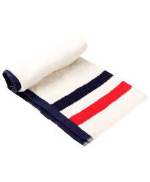 Trident Play Kids Towel - White
