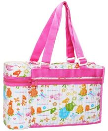 Morison Baby Dream Bag With Bottle Warmer Pink