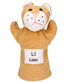 Natkhat Lion Puppet - Light Brown