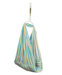 Luk Luck Port Baby Cradle Nest Stripes - Blue