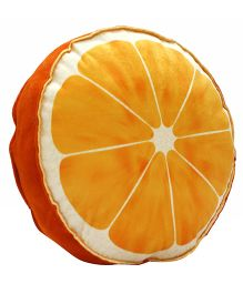 Stybuzz Orange Plush Fruit Cushion - Orange