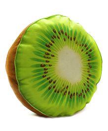Stybuzz Kiwi Plush Fruit Cushion - Green