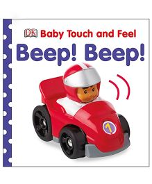 Baby Touch And Feel Vehicles Book - English