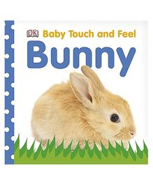 Baby Touch And Feel Bunny Book - English