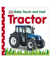 Baby Touch and Feel Tractor -  English