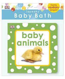 Squeaky Baby Bath Book Baby Animals - English