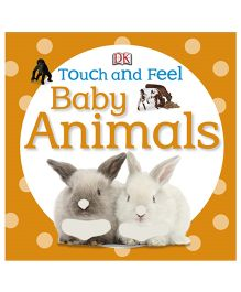 Touch And Feel Baby Animals - English