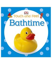 Touch And Feel Bathtime - English