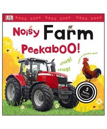 Noisy Farm Peekaboo Flap Book - English