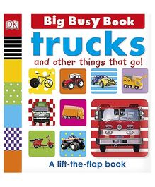 Big Busy Book Trucks - English
