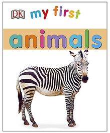 My First Animals Board Book - English