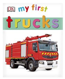 My First Trucks Board Book - English