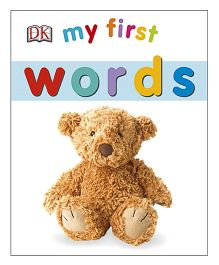 My First Words Board Book - English