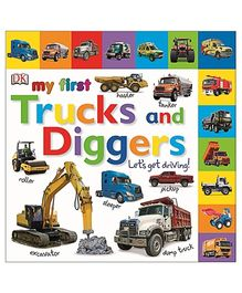 My First Trucks and Diggers Let's Get Driving - English