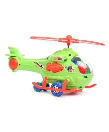 Kids Zone Apache Helicopter Toy