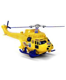 Kids Zone Friction Toy Attack Helicopter (Color May Vary)