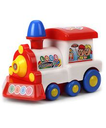 Kids Zone Friction Toy Deo Loco - White