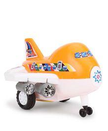 Kids Zone Great Jet Plane Orange & White