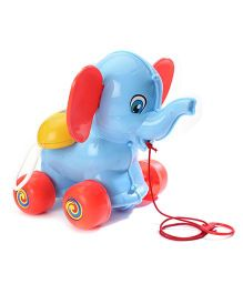 Kids Zone Masoom Elephant Pull Along Toy