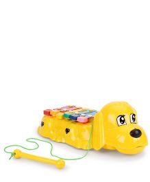 Kids Zone Melody Puppy Xylophone - Yellow