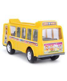 Kids Zone Friction Toy Mini Bus - Orange