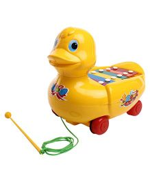 Kids Zone Musical Duck - Yellow
