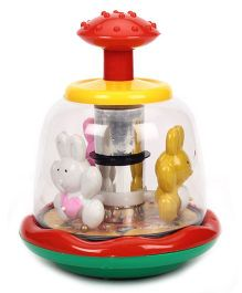 Kids Zone Push And Spin Bunny